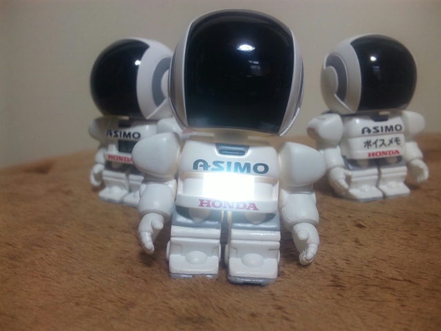 ASIMO到着!
