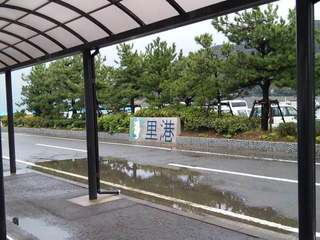 甑島は今日も雨だった