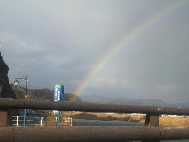 初めての虹