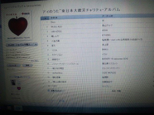 アイのうた〜東日本大震災チャリティ・アルバム
